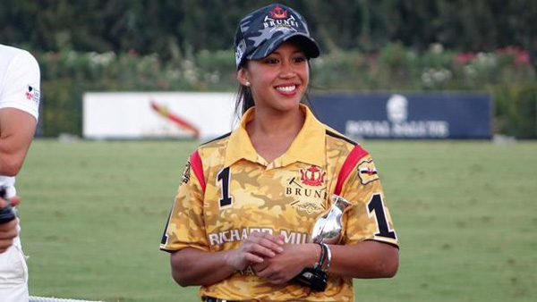 Công chúa Hoàng tử Brunei  giàu có vẹn tròn tài sắc đang thi đấu gây ấn tượng tại Sea Games 30 - Ảnh 1.