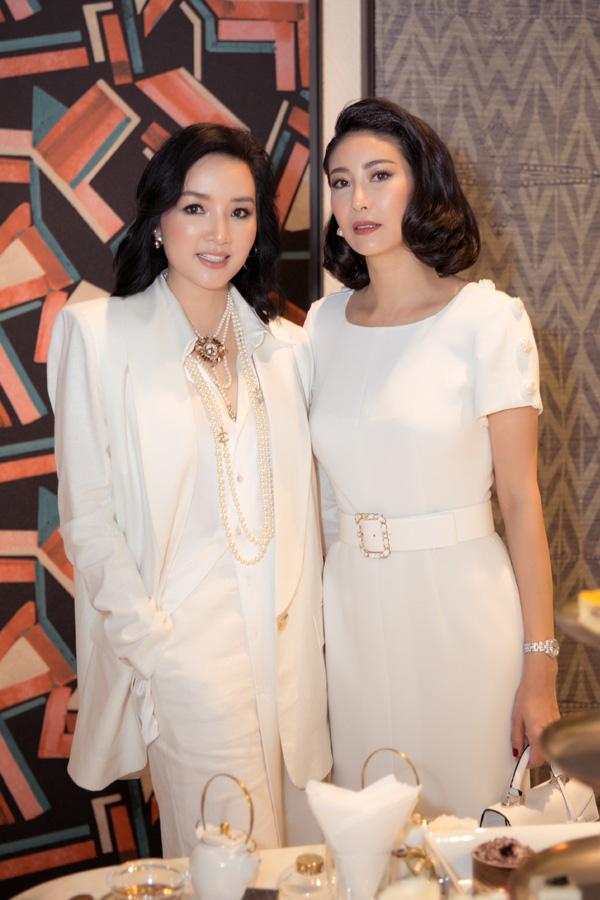 27 năm sau đăng quang Hoa hậu Việt Nam, Hà Kiều Anh xuất hiện gây bất ngờ với nhan sắc không tuổi - Ảnh 2.