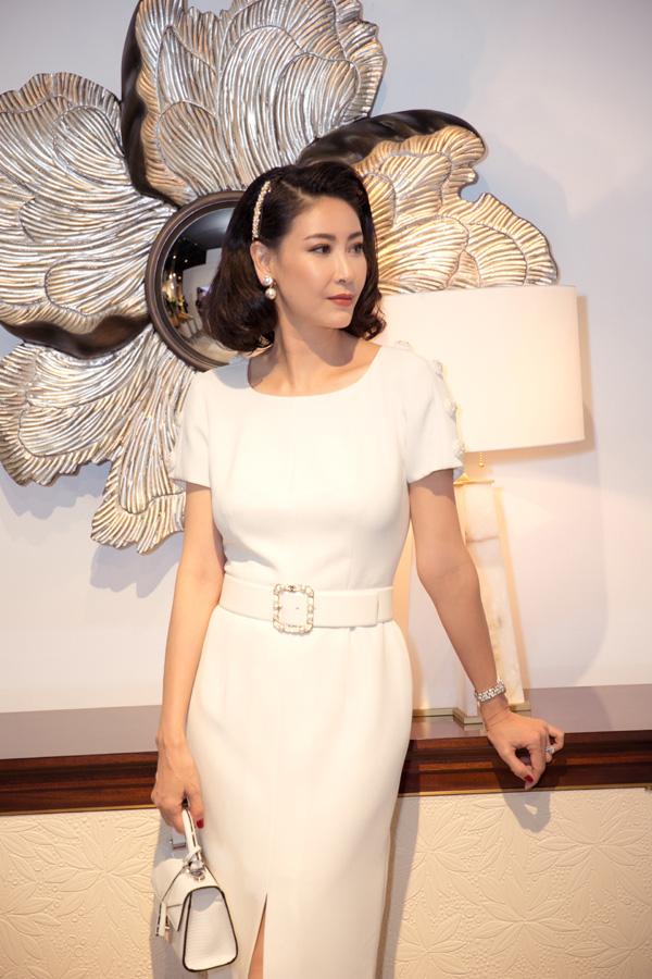 27 năm sau đăng quang Hoa hậu Việt Nam, Hà Kiều Anh xuất hiện gây bất ngờ với nhan sắc không tuổi - Ảnh 8.