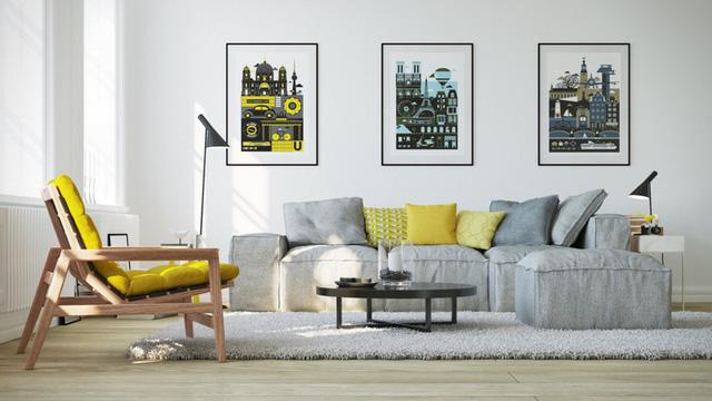 Những mẫu phòng khách gia đình khiến bạn chỉ muốn rinh ngay về đặt vào nhà mình - Ảnh 11.