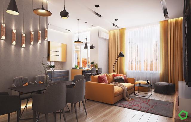 Những mẫu phòng khách gia đình khiến bạn chỉ muốn rinh ngay về đặt vào nhà mình - Ảnh 7.
