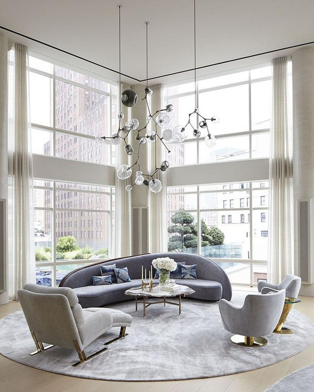 Những mẫu phòng khách gia đình khiến bạn chỉ muốn rinh ngay về đặt vào nhà mình - Ảnh 8.
