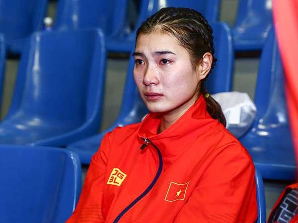 VĐV Việt Nam bật khóc vì bị trọng tài xử ép ở SEA Games 30 - Ảnh 2.