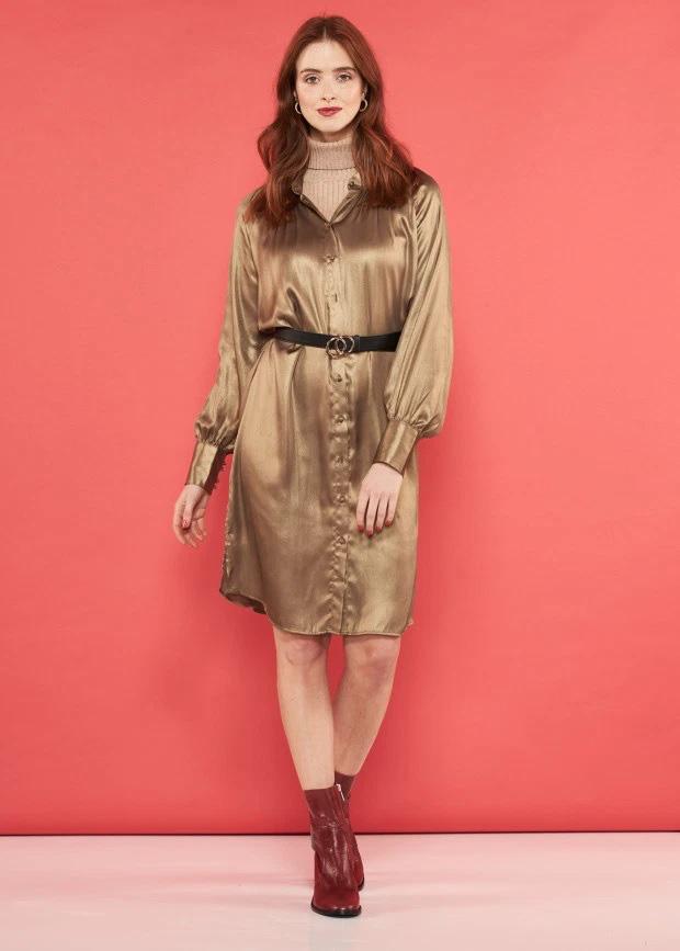 6 cách diện 1 chiếc váy sơ mi giúp bạn đẹp trong mọi hoàn cảnh, từ Đông sang Hè đều được - Ảnh 6.