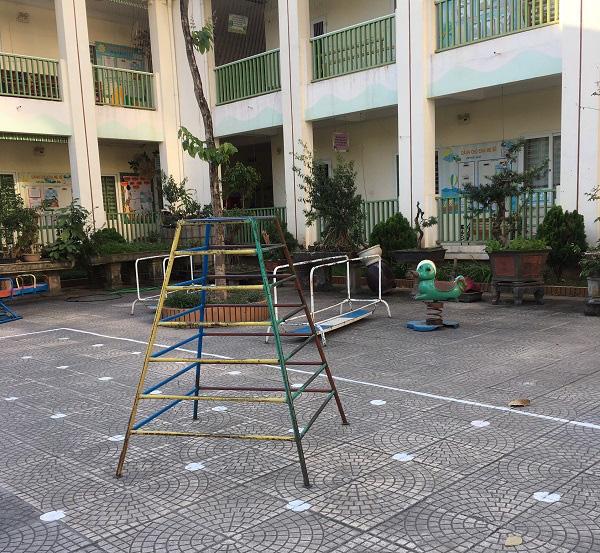Hà Nội: Những bẫy trò chơi nguy hiểm ở sân trường, khu vui chơi trẻ em - Ảnh 5.