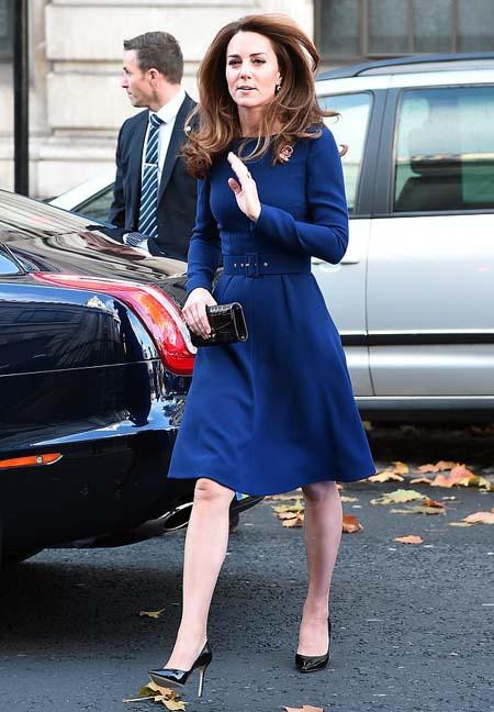 Kate diện váy 1.300 USD đón lãnh đạo thế giới - Ảnh 5.