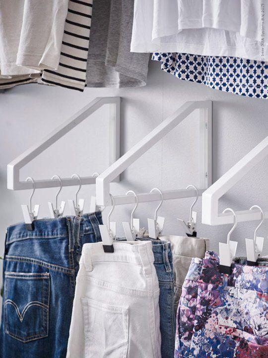 9 ý tưởng tổ chức tủ quần áo để giúp bạn không phải đau đầu mỗi khi muốn mua 1 món đồ mới mà lo không có chỗ cất - Ảnh 6.