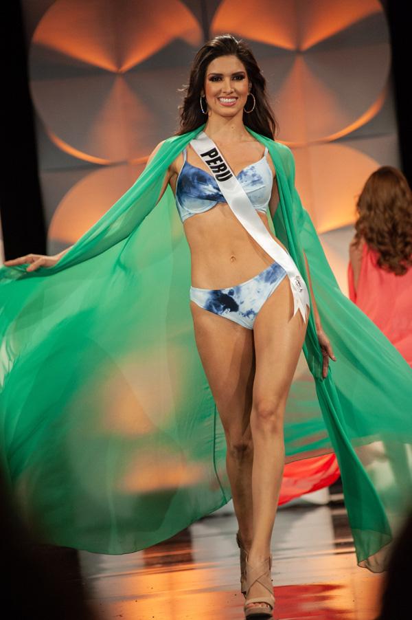 Hoàng Thùy đọ dáng với bikini bên các đối thủ Miss Universe - Ảnh 5.