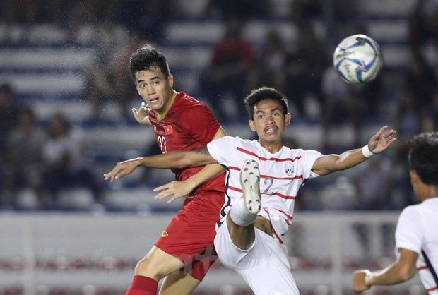 Tiến Linh: U22 Việt Nam sẽ có 100% thể lực ở chung kết SEA Games 30 - Ảnh 1.
