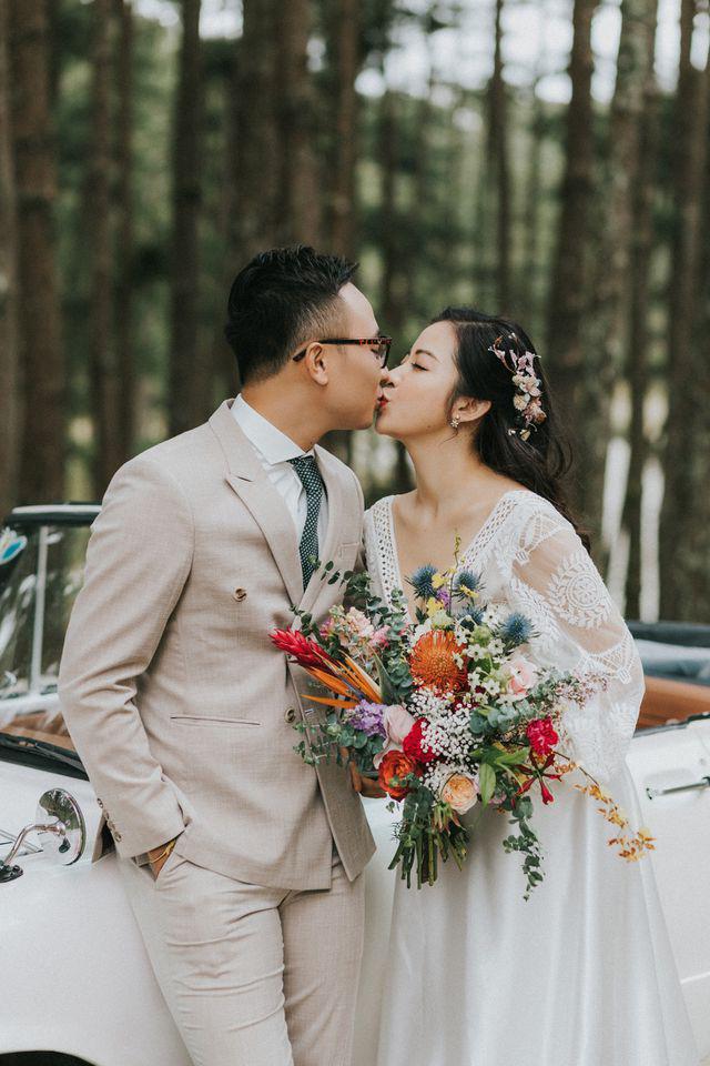 """MC VTV lấy được vợ """"nhờ bát cháo sườn"""" và đám cưới 100 khách mời  - Ảnh 1."""