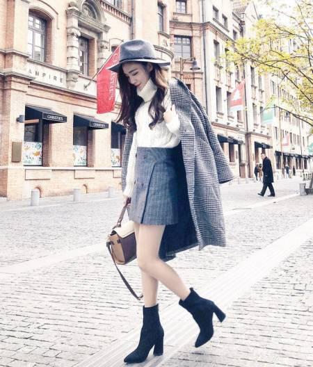 Mix áo khoác dài mùa đông với các kiểu dưới đây, chị em trông vừa hiện đại vừa quyến rũ - Ảnh 3.