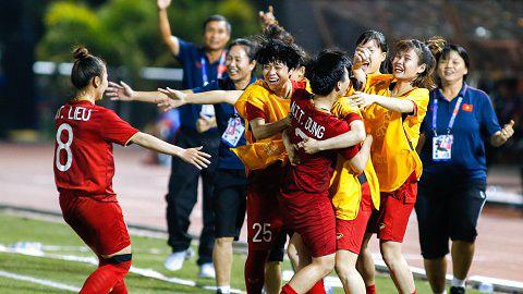 Đội tuyển nữ Việt Nam được thưởng bao nhiêu tiền sau khi vô địch SEA Games 30? - Ảnh 1.