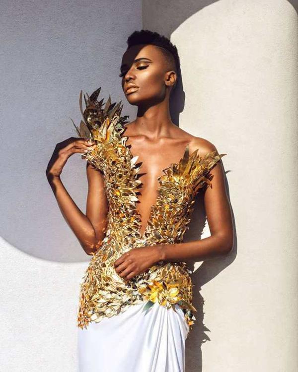 Đường đến vương miện Miss Universe của viên ngọc đen Nam Phi - Ảnh 2.