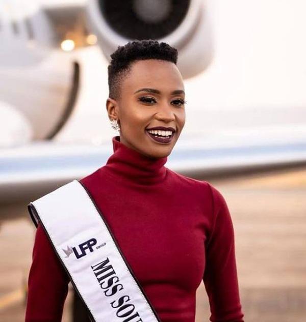 Đường đến vương miện Miss Universe của viên ngọc đen Nam Phi - Ảnh 3.