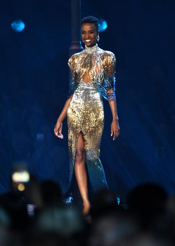 Đường đến vương miện Miss Universe của viên ngọc đen Nam Phi - Ảnh 5.