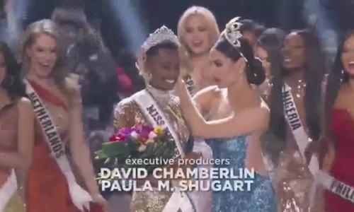 Đường đến vương miện Miss Universe của viên ngọc đen Nam Phi - Ảnh 9.