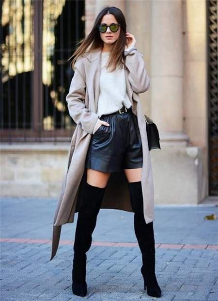 Mix áo khoác dài mùa đông với các kiểu dưới đây, chị em trông vừa hiện đại vừa quyến rũ - Ảnh 4.