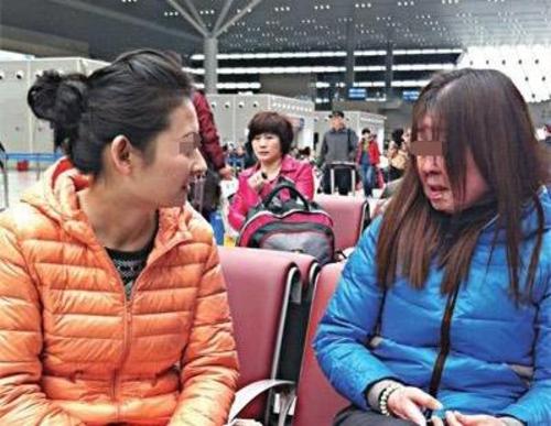 Tiểu Na hiện nay (phải). Ảnh: Baidu.