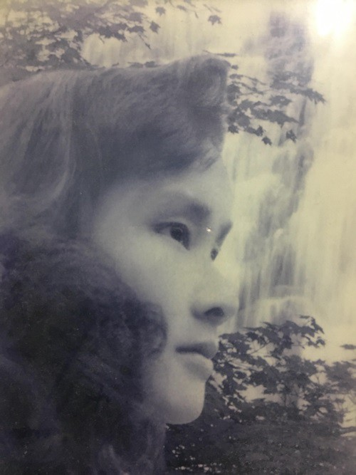 Cô Mai Lan lúc trẻ.