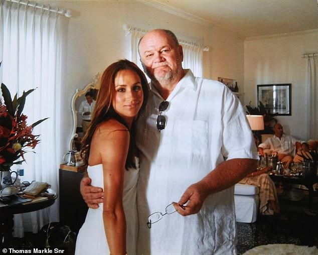 Ông Thomas và con gái từng có mối quan hệ rất tốt đẹp.