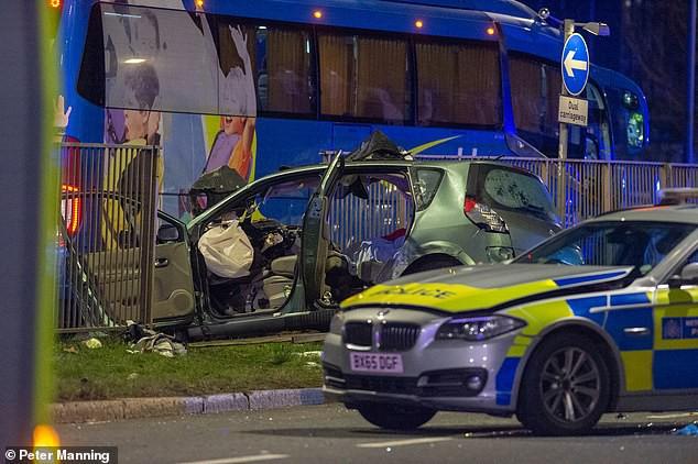 Hiện trường vụ tai nạn xảy ra vào ngày 10/2.