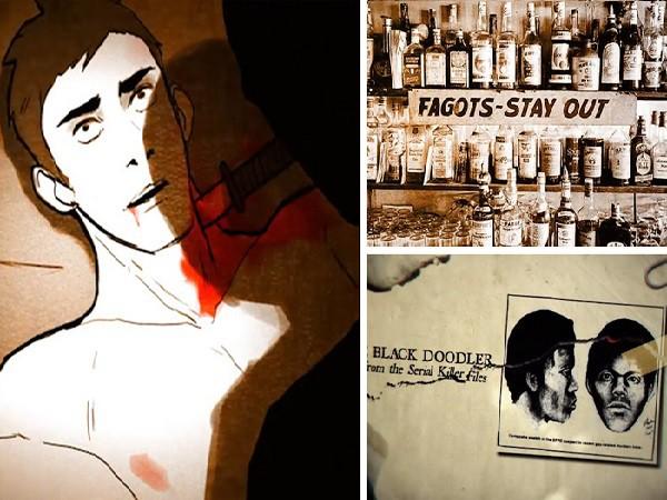 Tiếp cận mục tiêu ở các CLB, quán Bar của người đồng tính, vẽ chân dung nạn nhân và... xuống tay bằng dao là cách thức của The Doodler