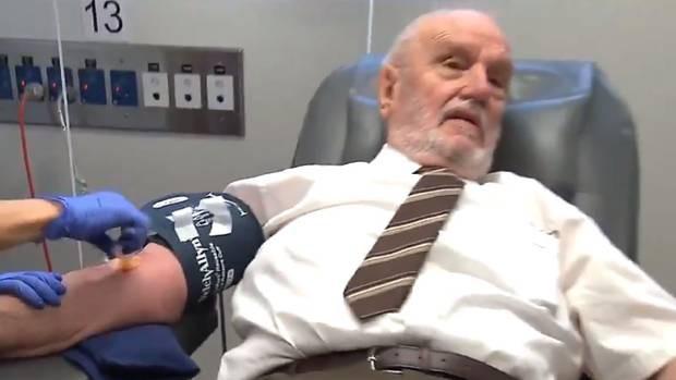 Kháng thể đặc biệt trong máu của Harrison đã giúp cứu sống hơn 2 triệu trẻ em