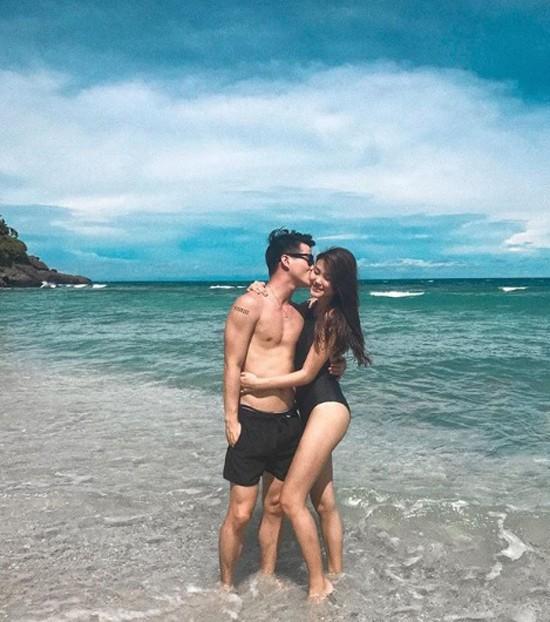 Cả hai từng dành thời gian đi du lịch, thăm thú nhiều nơi và chụp ảnh tình tứ. Ảnh: Instagram.