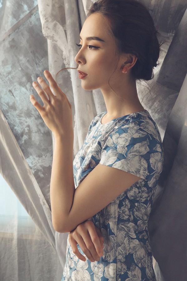 Á hậu là người đẹp kín tiếng nhất từ khi lấy chồng dại gia.