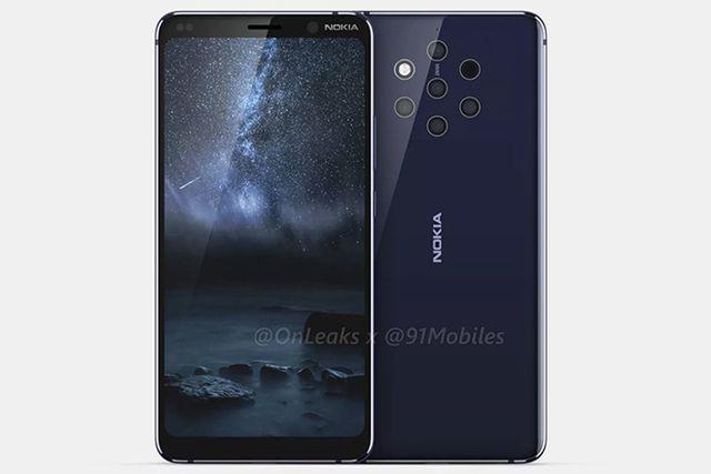 Nokia 9 sẽ sở hữu đến 5 camera ở mặt sau sản phẩm