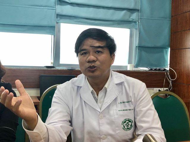 PGS.TS Đào Xuân Cơ - Trưởng khoa Hồi sức tích cực, Bệnh viện Bạch Mai. Ảnh: H.H