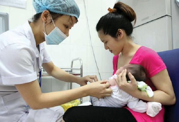 Biện pháp hữu hiệu nhất để phòng bệnh ho gà là tiêm vắc xin.