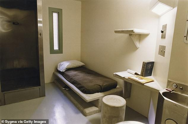 Một góc phòng giam ở nhà tù ADX Florence.