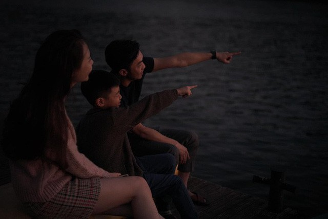 Hình ảnh gia đình hạnh phúc của Cường đô la, Đàm Thu Trang và bé Subeo