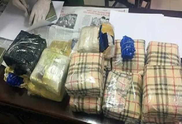 294kg ma túy bị thu giữ. Ảnh: CAHT