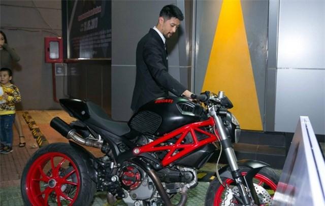 Một trong những chiếc motor khủng của nam diễn viên