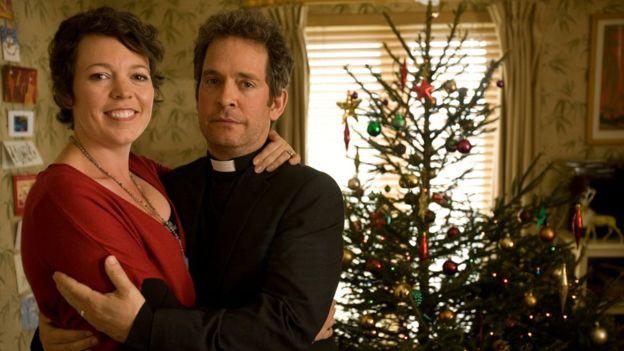 """Nữ diễn viên trở nên """"quen mặt"""" với khán giả truyền hình khi thủ vai người vợ linh mục trong sitcom BBC Rev."""