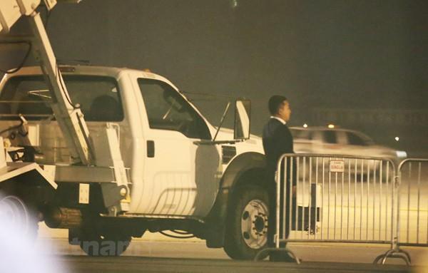 Công tác an ninh tại sân bay Nội Bài đã được tiến hành chu đáo.
