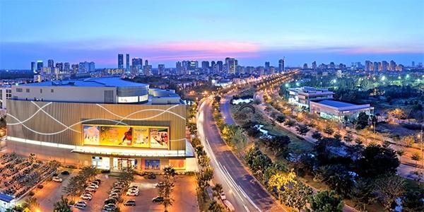 Tốc độ đô thị hoá khu Nam Sài Gòn ngày càng nhanh dẫn đến quỹ đất trung tâm đang bị hạn hẹp