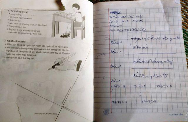 Một số môn Văn và Toán em chỉ ghi được dầu bài nhưng vẫn qua được các kì thi để ngồi ở lớp 6