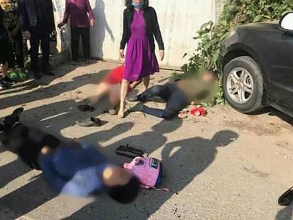 Vụ tai nạn giao thông thảm khốc ở Thanh Hóa khiến 3 người chết, 5 người bị thương