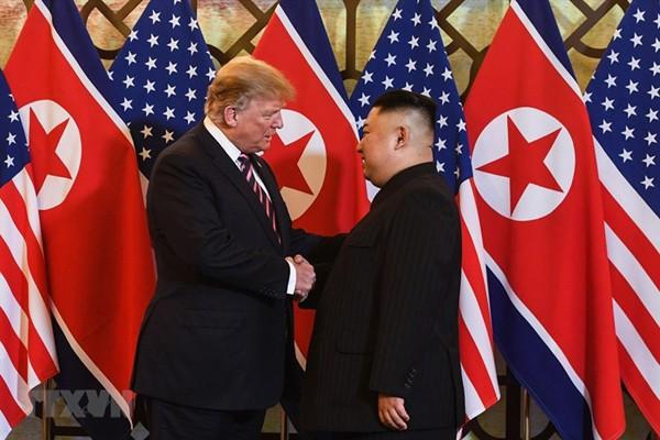 Cuộc họp chính thức của Tổng thống Donald Trump và Chủ tịch Kim Jong-un diễn ra vào ngày 28/2.
