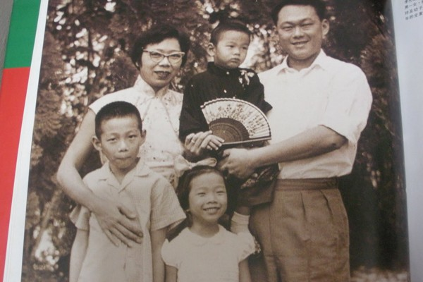 Gia đình ông Lý Quang Diệu.