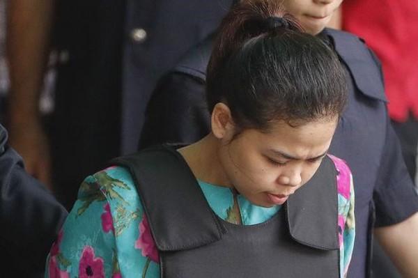 Nghi can người Indonesia được thả tự do. Ảnh Dailymail