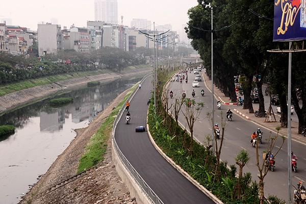 Tuyến đường mới này sẽ tạo nên cảnh quan đô thị thoáng đãng, sạch đẹp hơn trước.