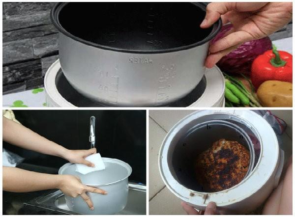 Sai lầm khi sử dụng nồi cơm điện sẽ khiến cho nồi cơm nhanh hỏng, cơm không ngon