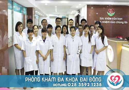 Phòng khám Đại Đông có đầy đủ nguồn nhân lực khám chữa bệnh phụ khoa