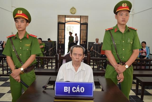 Bị cáo tại phiên tòa. Ảnh: Tuấn Minh.