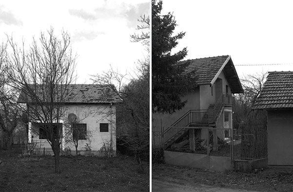Nó mới được cải tạo trên nền một ngôi nhà cũ. Căn nhà cấp 4 lúc trước có kết cấu khá vững chãi nhưng vẻ ngoài lại quá sơ sài, mộc mạc, diện tích nhỏ và không còn phù hợp với nhu cầu sử dụng của gia chủ.