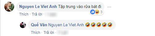 Việt Anh bình luận trêu chọc người tình tin đồn một thời Quế Vân